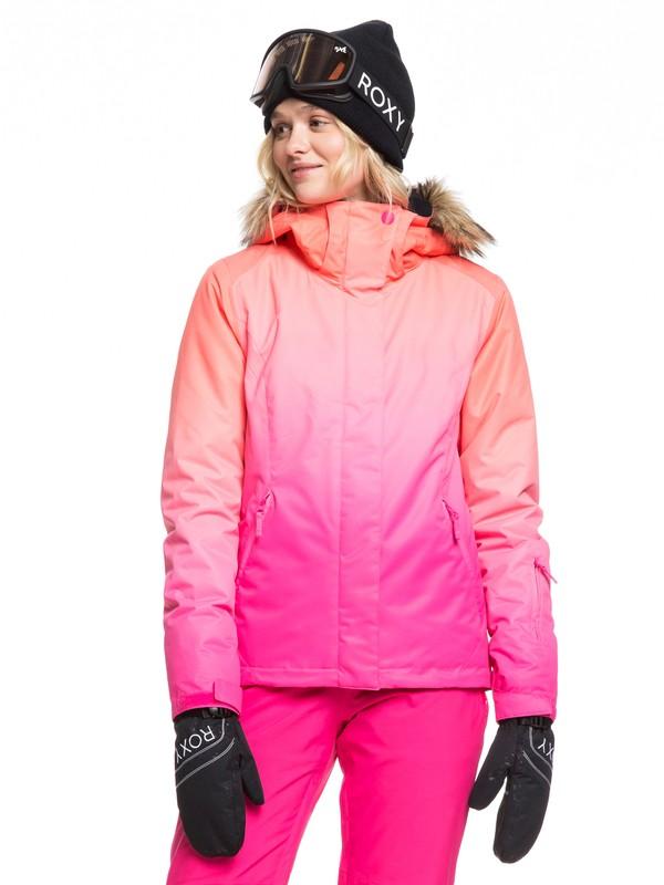0 Jet Ski Snow Jacket Pink ERJTJ03222 Roxy