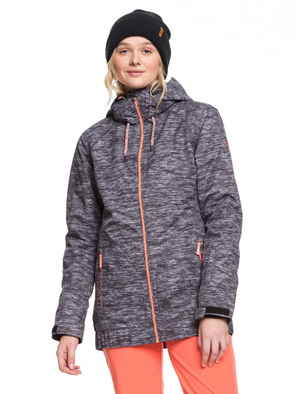 0 Valley Snow Jacket Black ERJTJ03223 Roxy