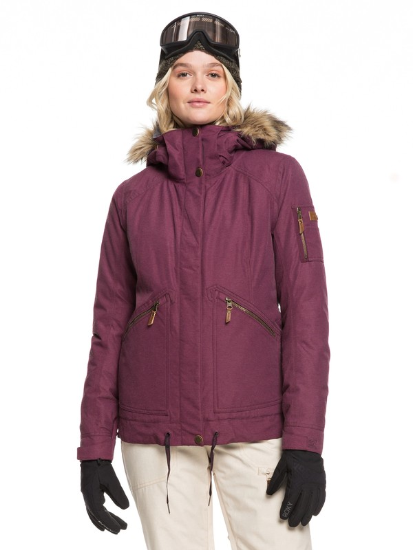 0 Meade Snow Jacket Purple ERJTJ03229 Roxy