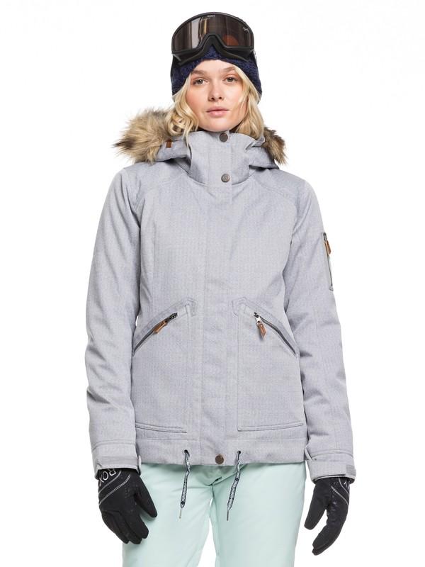 0 Meade Snow Jacket Grey ERJTJ03229 Roxy