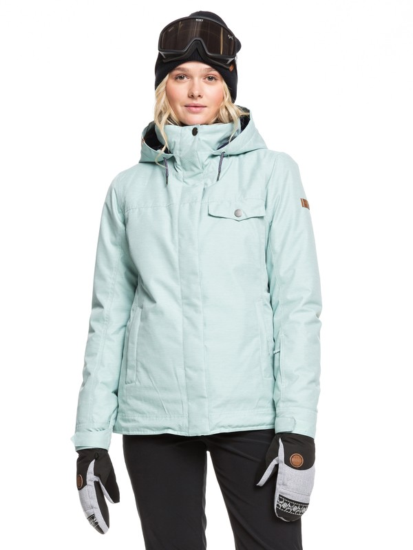 0 Billie Snow Jacket Blue ERJTJ03235 Roxy