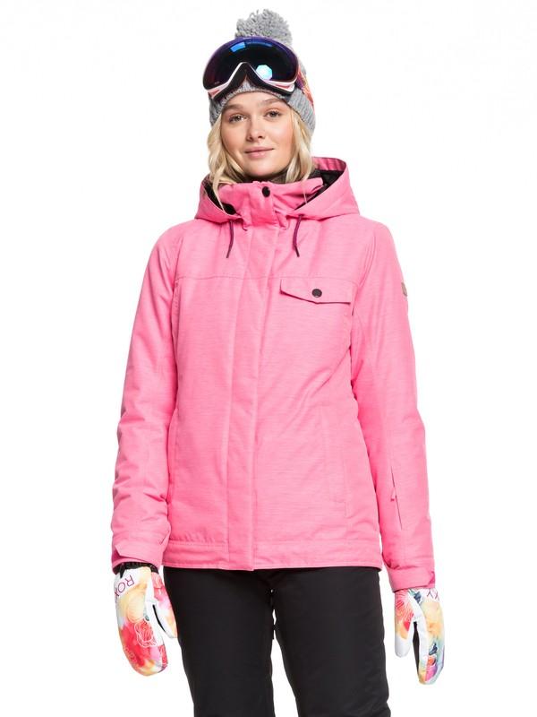 0 Billie Snow Jacket Pink ERJTJ03235 Roxy