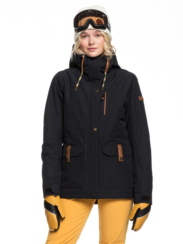 0 Andie Snow Jacket Black ERJTJ03236 Roxy