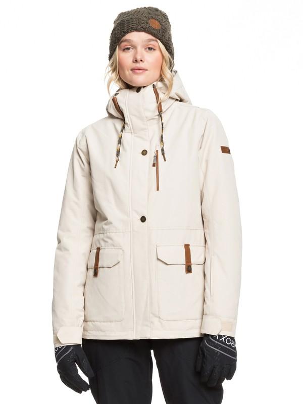 0 Andie Snow Jacket Beige ERJTJ03236 Roxy