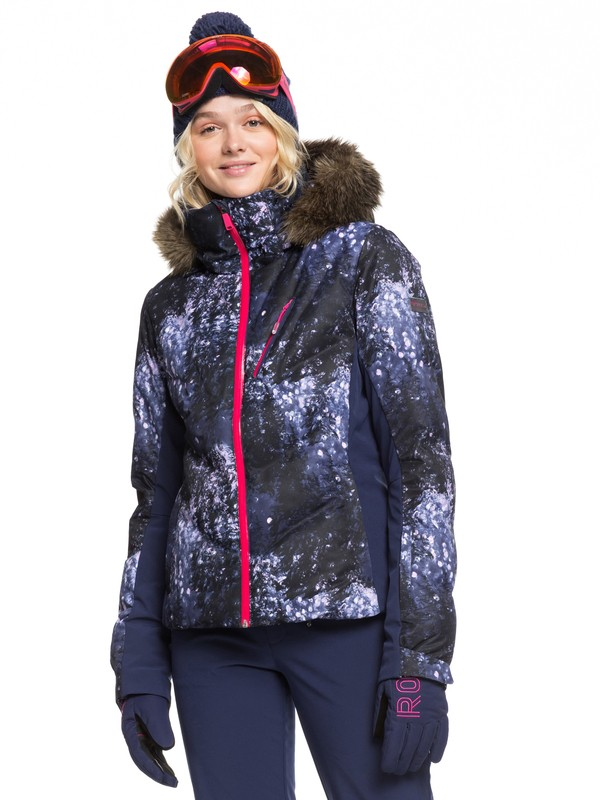 0 Snowstorm Plus Snow Jacket Blue ERJTJ03240 Roxy