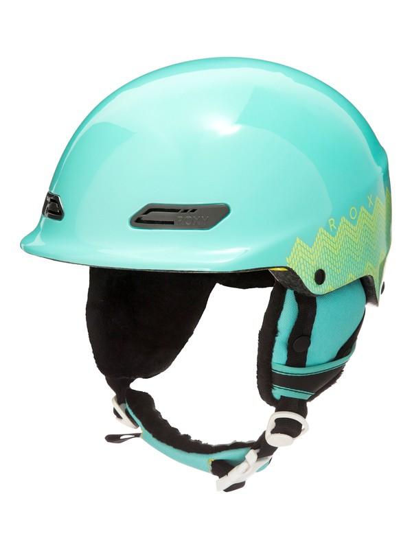 0 Power Powder - Casco de snowboard/esquí Azul ERJTL03018 Roxy