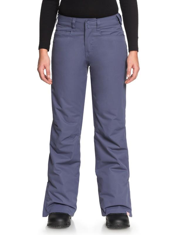 0 Backyard - Pantalon de snow pour Femme Bleu ERJTP03056 Roxy