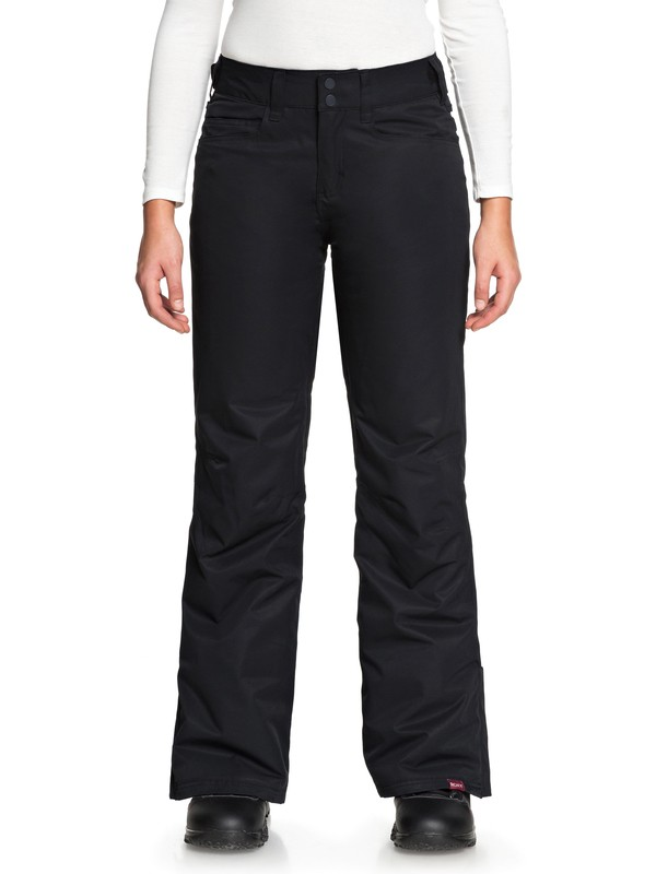 0 Backyard Snow Pants Black ERJTP03056 Roxy