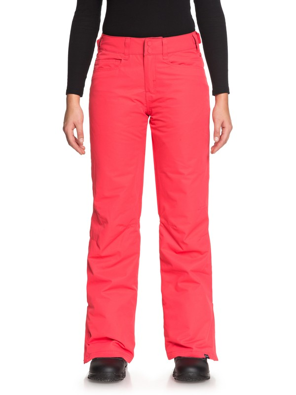 0 Backyard - Pantalon de snow pour Femme Rose ERJTP03056 Roxy