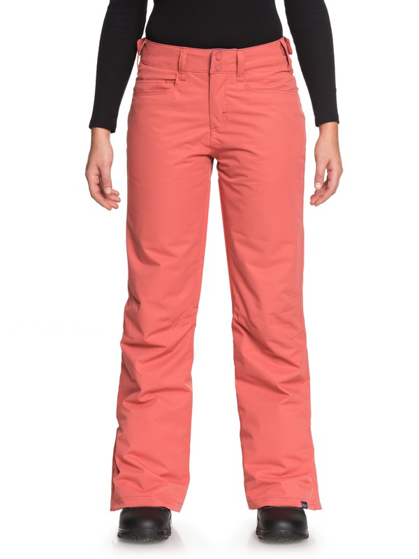 0 Backyard - Snow Pants for Women Pink ERJTP03056 Roxy