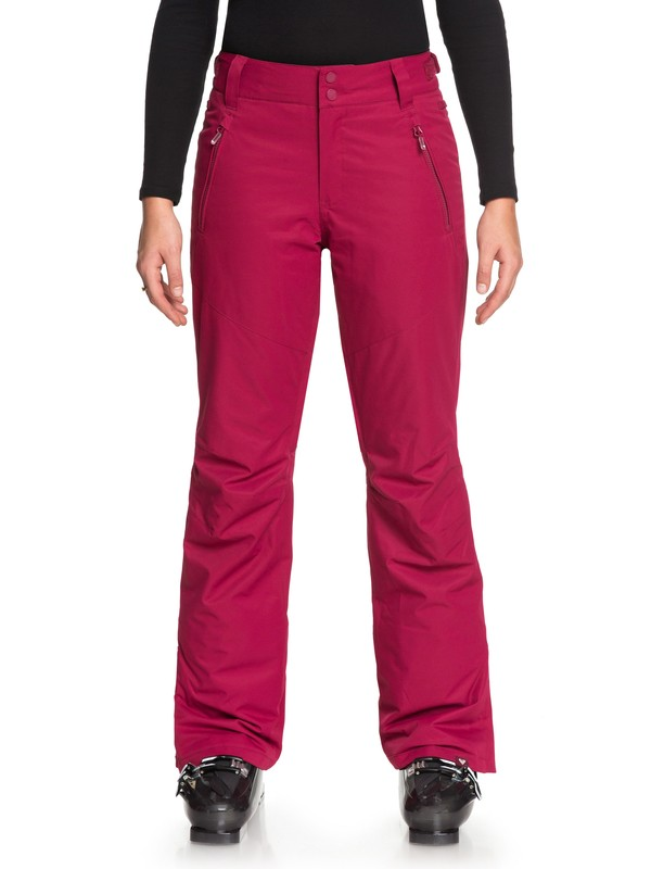 0 Winterbreak - Snow Pants for Women Red ERJTP03059 Roxy
