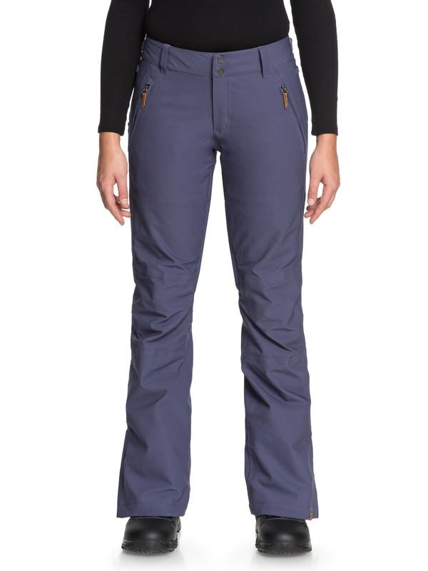 0 Cabin - Pantalon de snow pour Femme Bleu ERJTP03061 Roxy