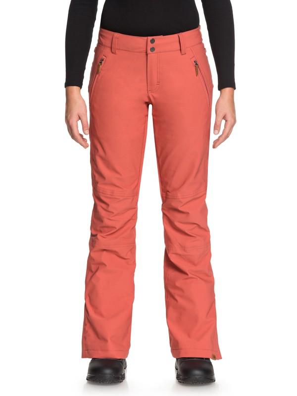 0 Cabin - Pantalon de snow pour Femme Rose ERJTP03061 Roxy