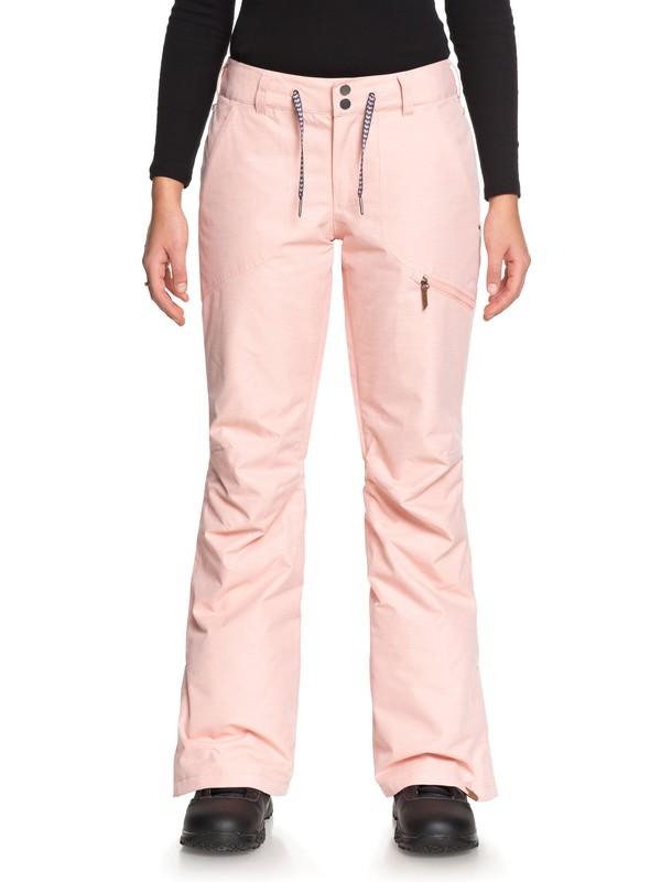 0 Nadia - Snowboardbroek voor Dames Pink ERJTP03062 Roxy