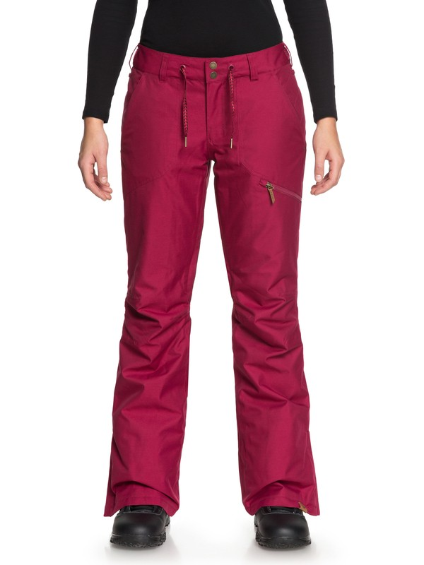 0 Nadia Snow Pants Red ERJTP03062 Roxy