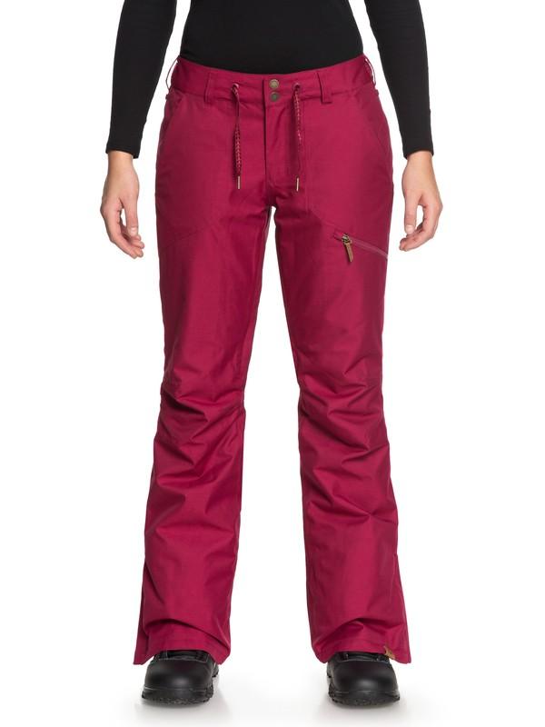 0 Nadia - Pantalon de snow pour Femme Rouge ERJTP03062 Roxy