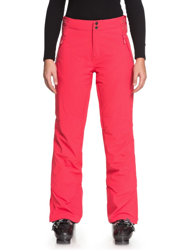0 Montana - Pantalon de snow pour Femme Rose ERJTP03065 Roxy
