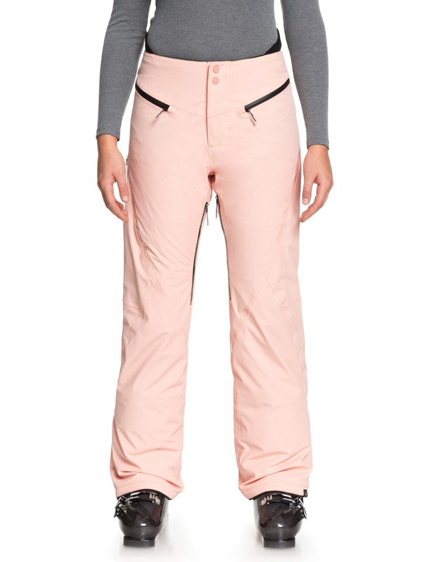 0 ROXY Premiere - Snow Pants for Women Pink ERJTP03068 Roxy