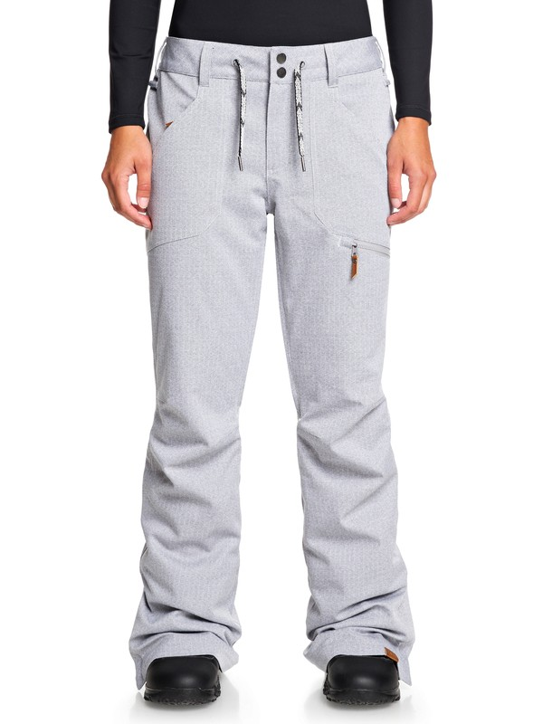 0 Nadia Snow Pants Grey ERJTP03087 Roxy