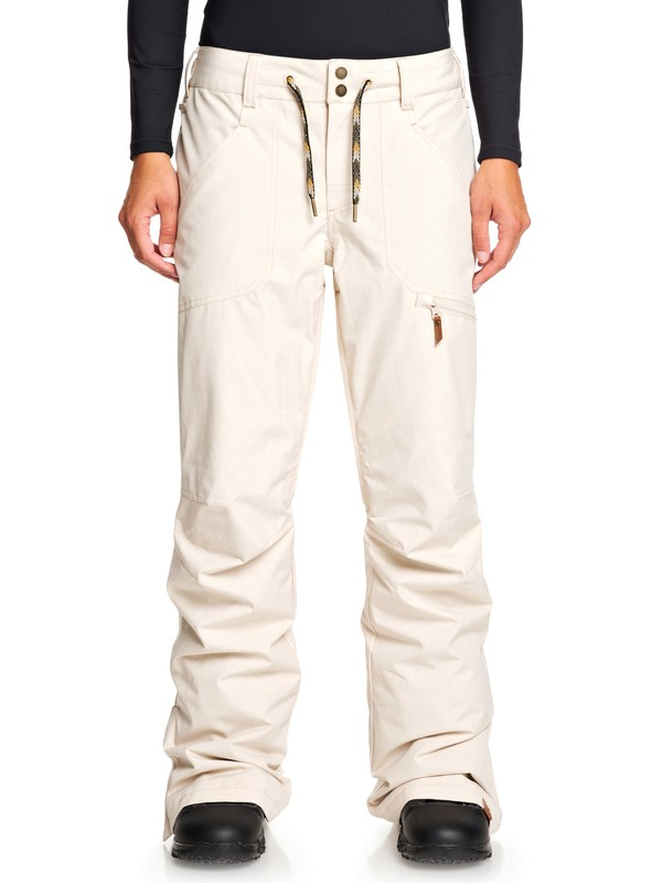 0 Nadia Snow Pants Beige ERJTP03087 Roxy