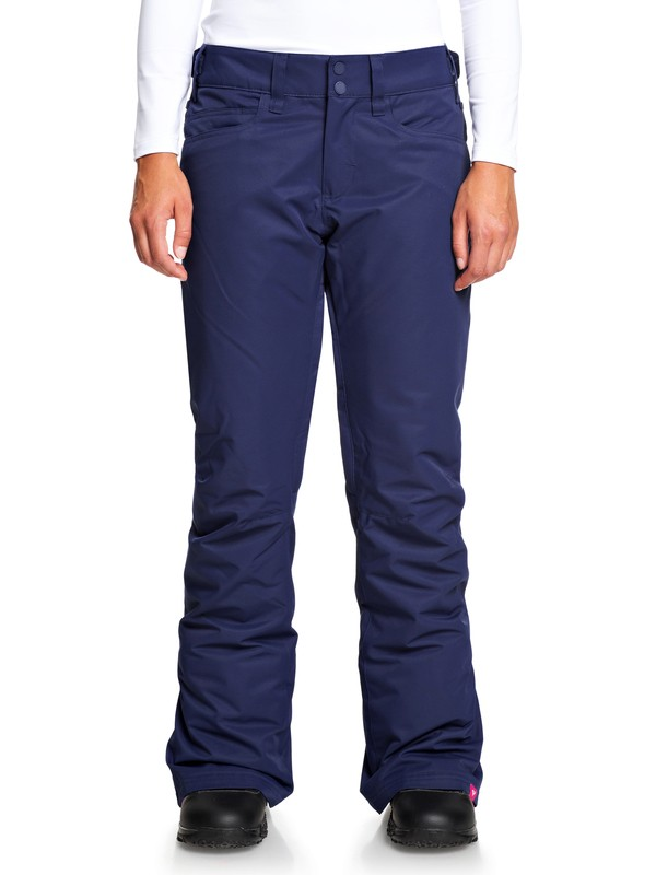 0 Backyard Snow Pants Blue ERJTP03091 Roxy