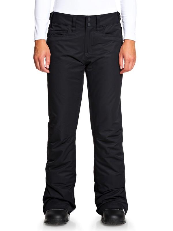 0 Backyard Snow Pants Black ERJTP03091 Roxy