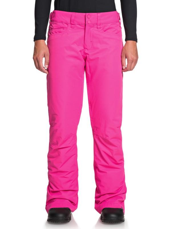 0 Backyard Snow Pants Pink ERJTP03091 Roxy