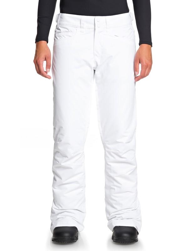 0 Backyard Snow Pants White ERJTP03091 Roxy