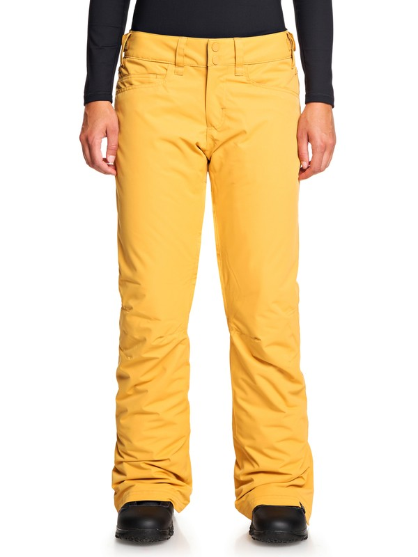 0 Backyard Snow Pants Yellow ERJTP03091 Roxy