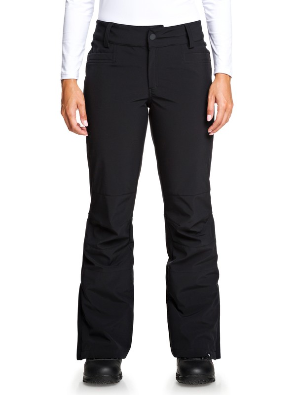0 Creek Short Snow Pants Black ERJTP03101 Roxy