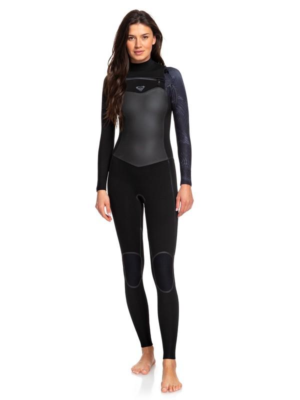 0 4/3mm Syncro Plus - Combinaison de surf zip poitrine pour Femme  ERJW103030 Roxy