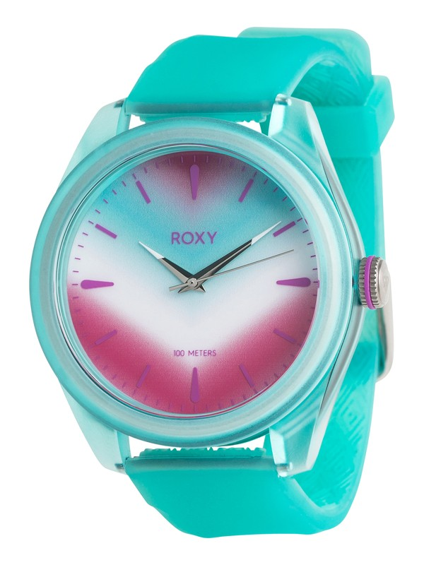 0 Popadopalis - Montre analogique pour Femme Bleu ERJWA03007 Roxy