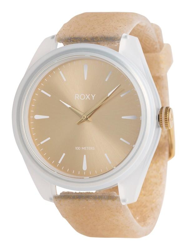 0 Popadopalis - Reloj Analógico para Mujer Amarillo ERJWA03007 Roxy