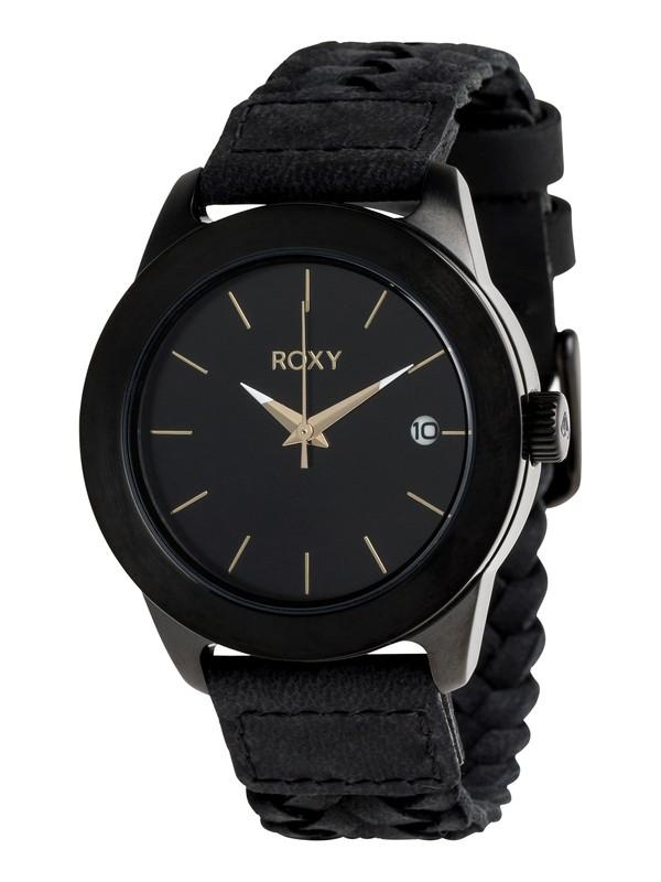 0 Kai Leather - Reloj Analógico para Mujer Amarillo ERJWA03009 Roxy