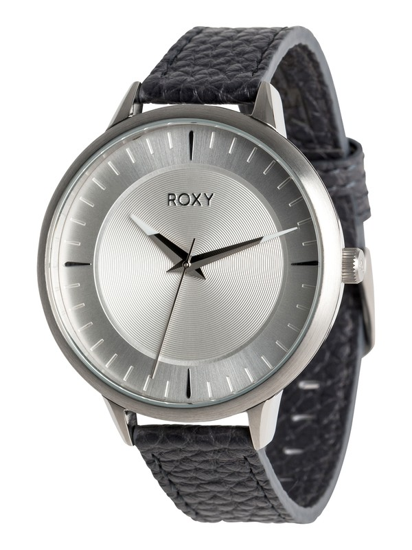 0 Avenue Leather - Montre analogique pour Femme Noir ERJWA03012 Roxy