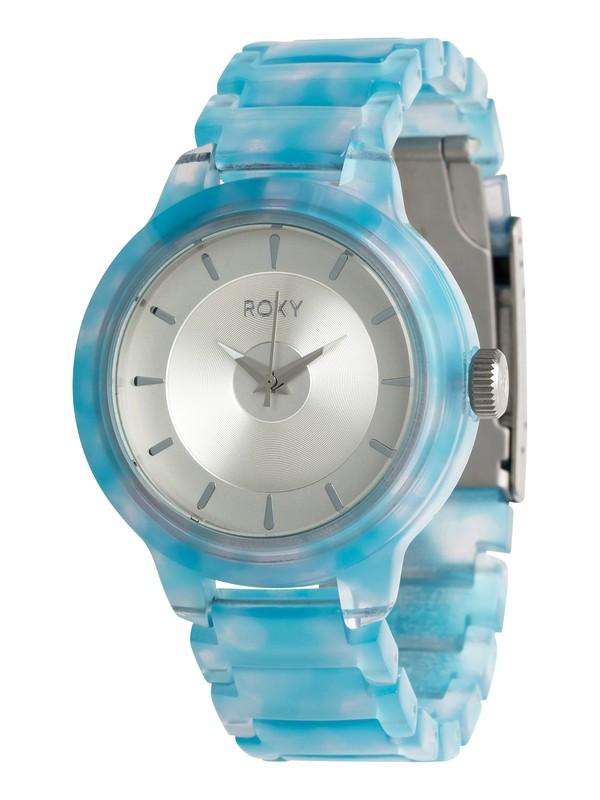 0 Baroness - Reloj Analógico para Mujer Azul ERJWA03014 Roxy