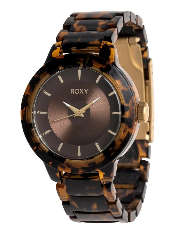 0 Baroness - Reloj Analógico para Mujer Verde ERJWA03014 Roxy