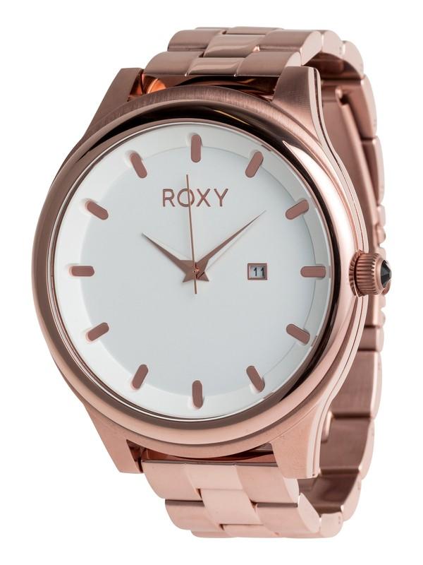 0 Mistress - Reloj Analógico para Mujer Rosa ERJWA03016 Roxy