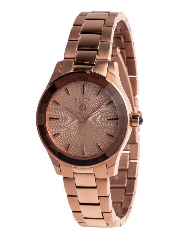 0 Uptown - Reloj Analógico para Mujer Rosa ERJWA03019 Roxy