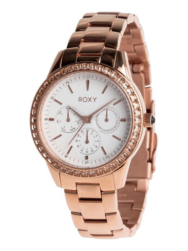 0 Jewel - Analoge Uhr für Frauen Rosa ERJWA03020 Roxy