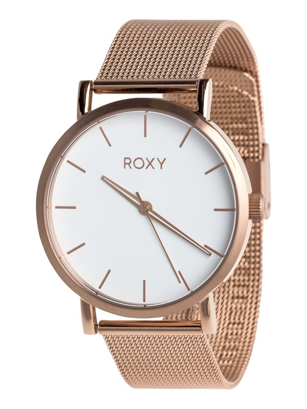 0 Maya Mesh Band - Montre analogique pour Femme Rose ERJWA03024 Roxy