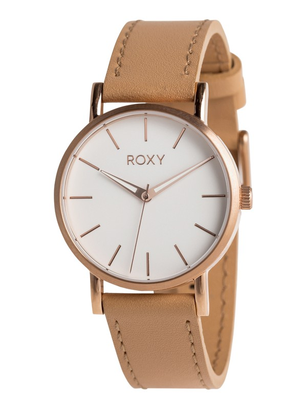 0 Maya S Leather - Montre analogique pour Femme Rose ERJWA03027 Roxy