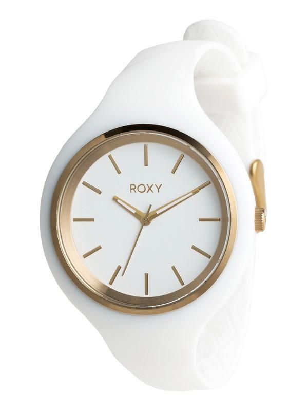 0 Alley - Analoge Uhr für Frauen Weiss ERJWA03028 Roxy