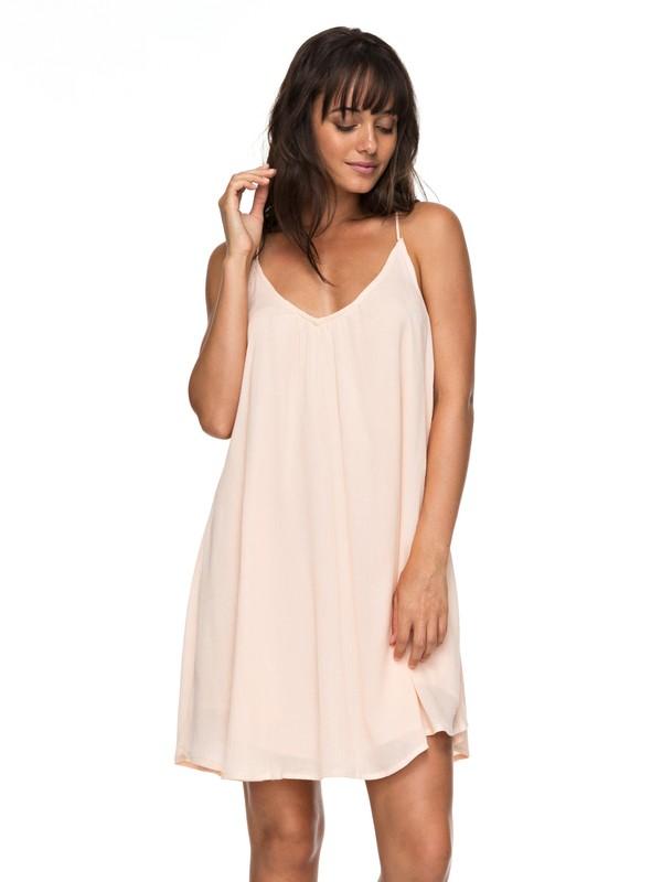 0 Great Intentions - Vestito Allacciato Pink ERJWD03195 Roxy