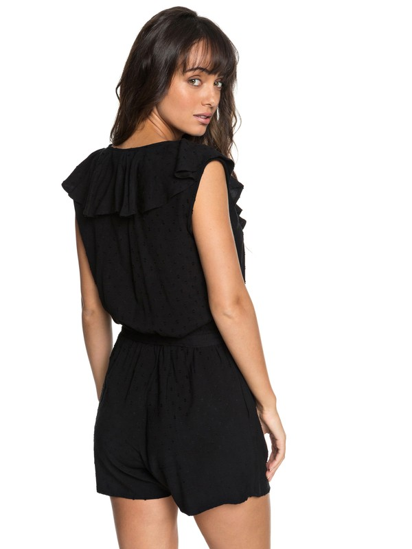 0 Cool Your Heart Romper Black ERJWD03265 Roxy