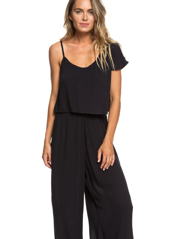 0 Komodo Exploring Cold Shoulder Culotte Jumpsuit  ERJWD03279 Roxy