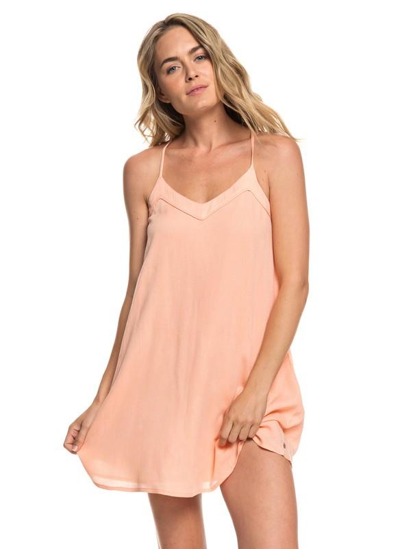 0 Off We Go - Vestido de Tiras para Mujer Rosa ERJWD03294 Roxy