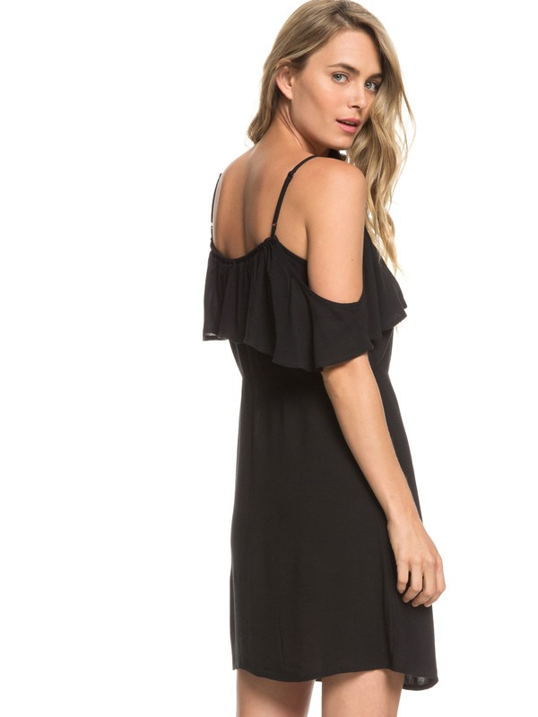 0 Hot Spring Streets Strappy Dress Black ERJWD03295 Roxy