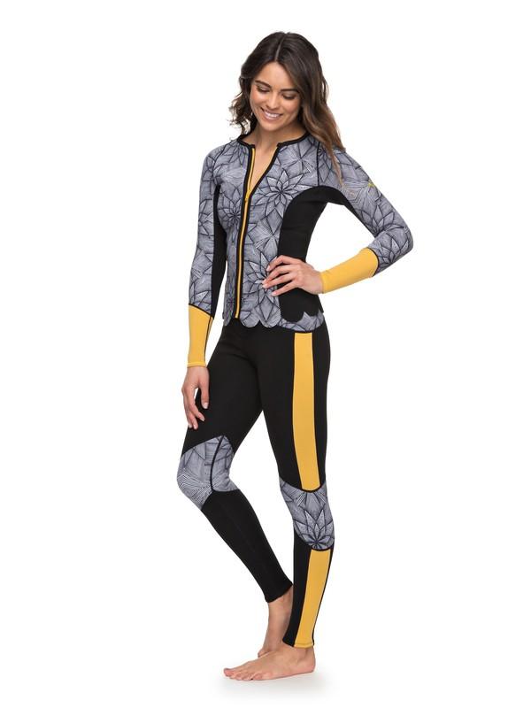 0 1mm POP Surf - Neoprene Surf Leggings for Women Black ERJWH03012 Roxy