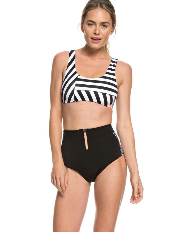 0 1mm POP Surf High Waist Neoprene Shorts for Women Black ERJWH03019 Roxy